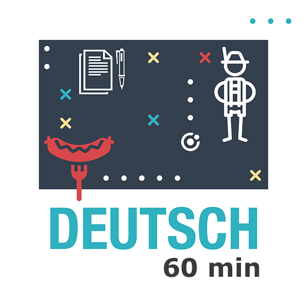 German lesson (60 min)