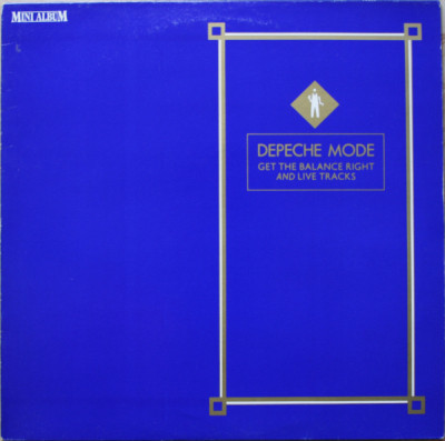Depeche Mode ''Get The Balance Right And Live Tracks''