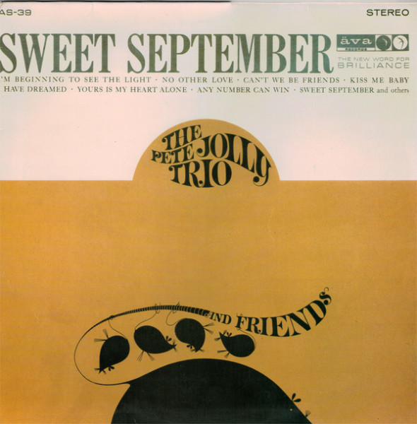 The Pete Jolly Trio - ''Sweet September''