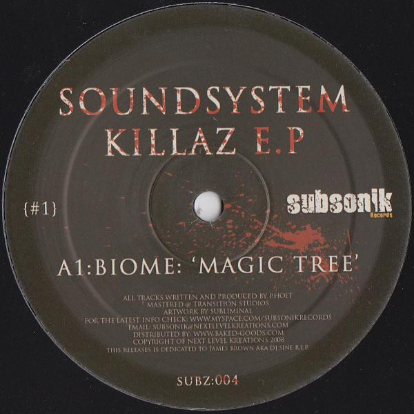 Biome - ''Soundsystem Killaz E.P''