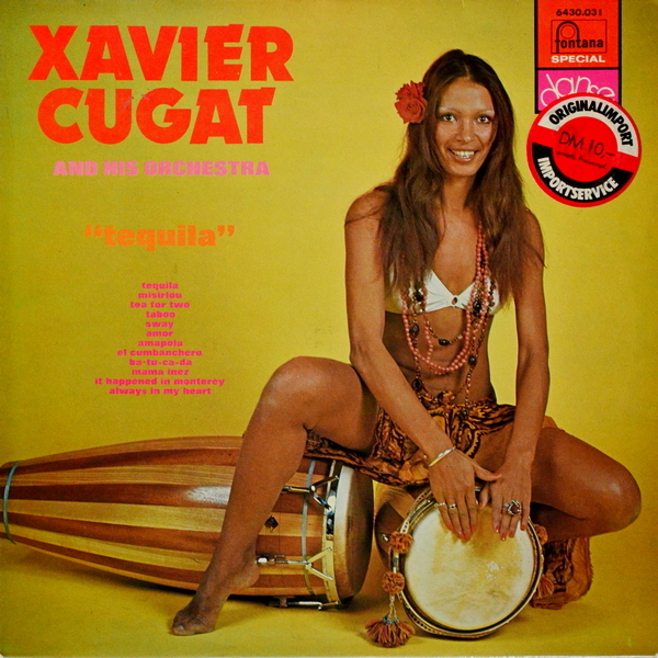 Xavier Cugat And His Orchestra - ''Tequila'' Latin, Latin > Mambo