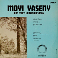 Various - ''Moyi Yaseny And Other Ukrainian Songs''