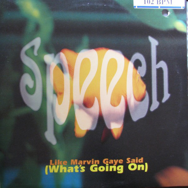 Speech - ''Like Marvin Said (What's Going On)''