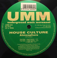 House Culture - ''Atmosphere''