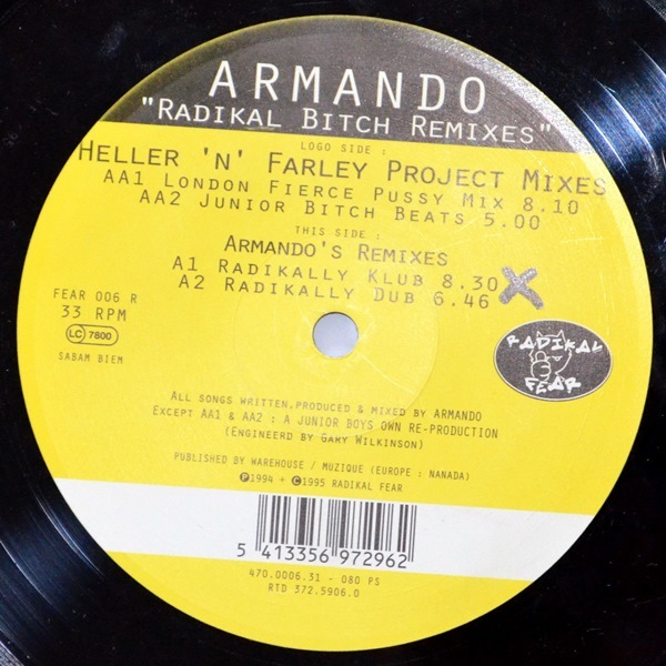 Armando - ''Radikal Bitch Remixes''
