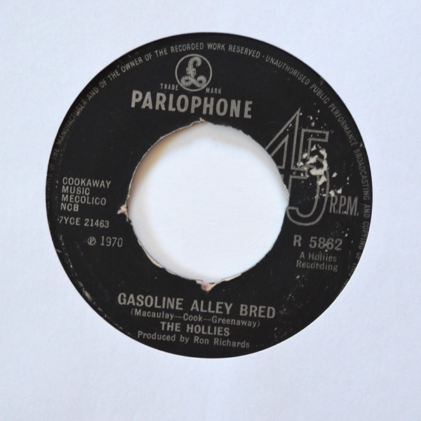 The Hollies - ''Gasoline Alley Bred''