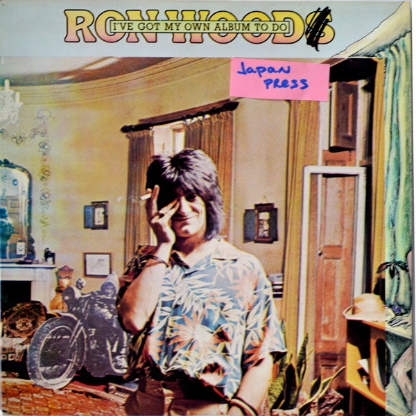 Ron Wood - ''I've Got My Own Album To Do''