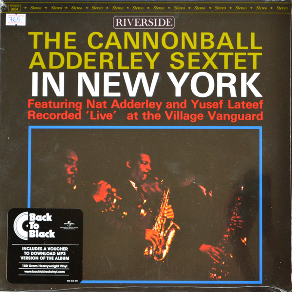 Cannonball Adderley Sextet - ''In New York''