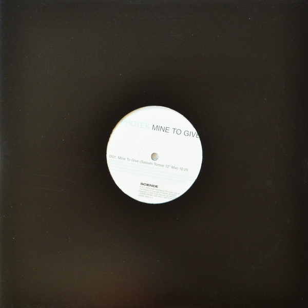Photek - ''Mine To Give''