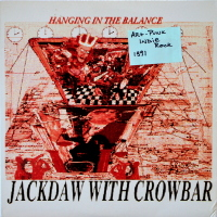 Jackdaw With Crowbar - ''Hanging In The Balance'' Rock, Rock > Indie Rock