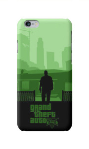 Чехол на Iphone 6s Plus Grand Theft Auto Green Силіконовий
