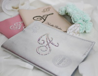 Genuine Leather Personalized Passport Cover made with Swarovski Crystals. Bling Monogram Travel Passport cover.