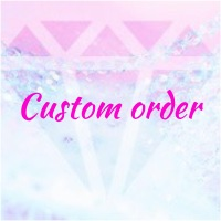 Custom order of case for iPhone 12 Pro Max with Swarovski Crystals