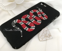 iPhone 7/iPhone 8 Snake Case with Swarovski Crystals. Bling Case