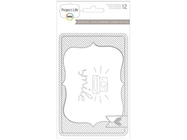 Оверлей Project Life® Photo Overlays Silver, American Crafts AMC380482