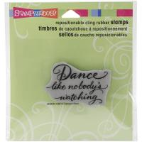 Штамп Dance Like Stampendous Cling Stamp