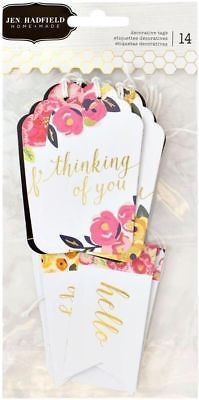 Декоративные теги Everyday Decorative Cardstock Tags, Jen Hadfield