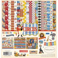 Набір паперу 30х30 см Collection Kit Circus, Carta Bella