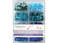 Пайетки Cup Sequins 7 мм Rhythm 'n Blues, Multicraft Imports