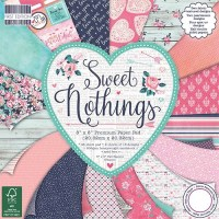 Набор скрапбумаги Sweet Nothings 20×20 см, 16 листов First Edition