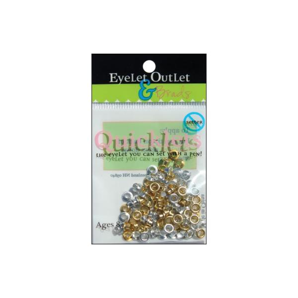 Люверсы микс Eyelet Outlet Quicklets Round