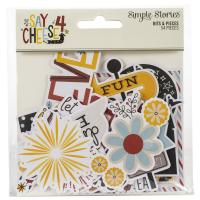 Набор высечек Say Cheese 4 Bits & Pieces Die-Cuts, Simple Stories