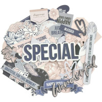 Бумажные высечки Kaisercraft Collectables Cardstock Die-Cuts Breathe