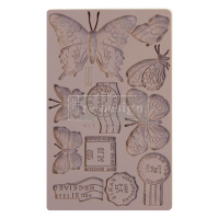 "Молд Re-Design Mould 5""X8"" Butterfly In Flight, Prima Marketing"