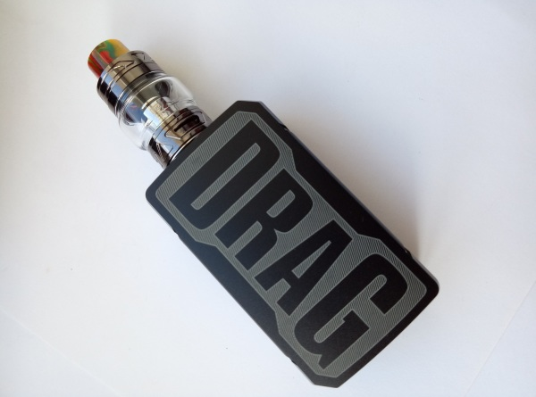 Электронная сигарета VOOPOO Drag 2 177W Kit Оригинал Vape Вейп
