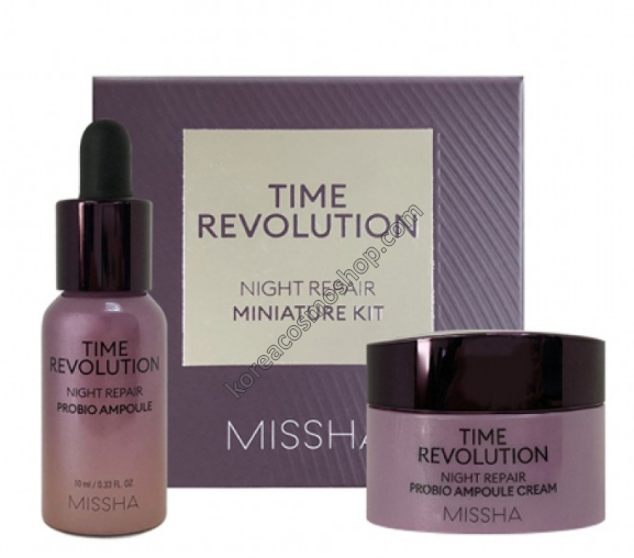 Набор средств по уходу за кожей лица Missha Time Revolution Night Repair