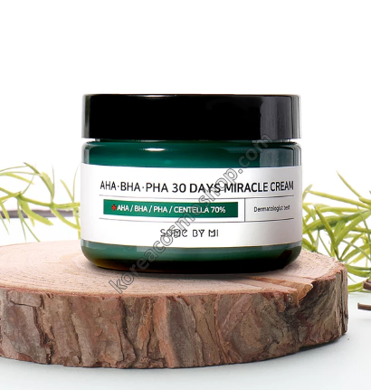 Восстанавливающий крем для проблемной кожи Some By Mi AHA-BHA-PHA 30 Days Miracle Cream