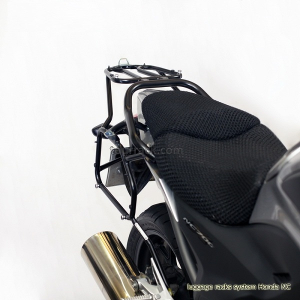 Honda Nc750 Xxd Whole Welded Luggage Rack System With Givi Kappa