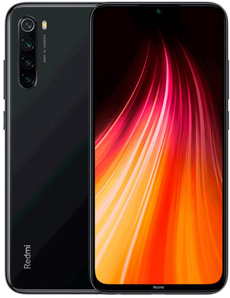Смартфон Xiaomi Redmi Note 8 6/128GB (Space Black , Neptune Blue)