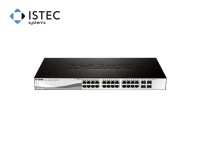 Коммутатор D-Link DGS-1210-28 28port Gbit, 4SFP, Smart