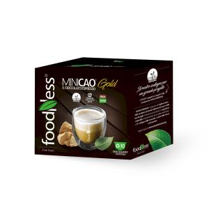 Капсульний напій шоколад Minikao Gold FoodNess 10 капсул