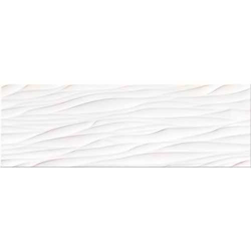Плитка STRUCTURE PATTERN WHITE WAVE STRUCTURE 25X75