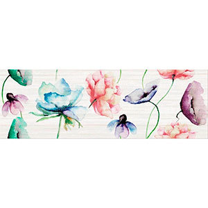 Плитка Elegant stripes inserto flower 25X75 Квітка