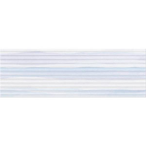 Плитка Elegant Stripes blue structure 25X75