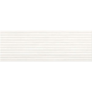 Плитка ELEGANT Stripes white structure 25X75
