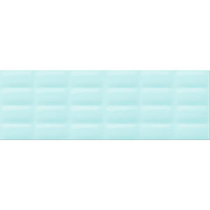 Плитка VIVID Colour Mint glossy pillow 25X75