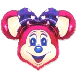 FM Фигура гр.11 И-151 SUPER LOLLY MOUSE FUCHSIA 901647F