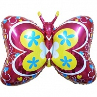 FM Фигура гр.11 И-161 BUTTERFLY DECO RED 901657R