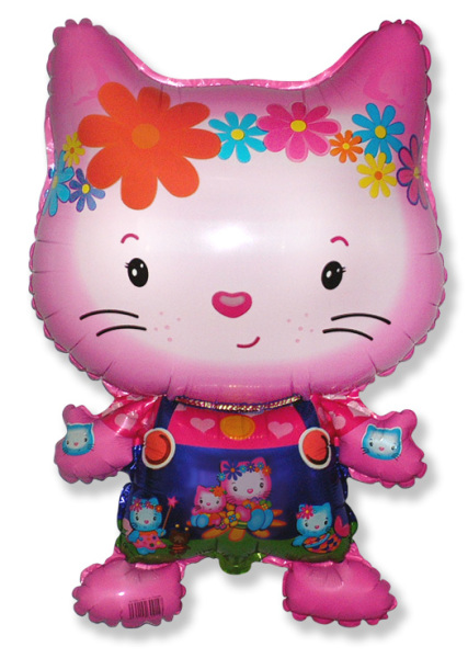 FM Фигура гр.11 И-170 LITTLE CAT FRIEND Fuchsia 901695F